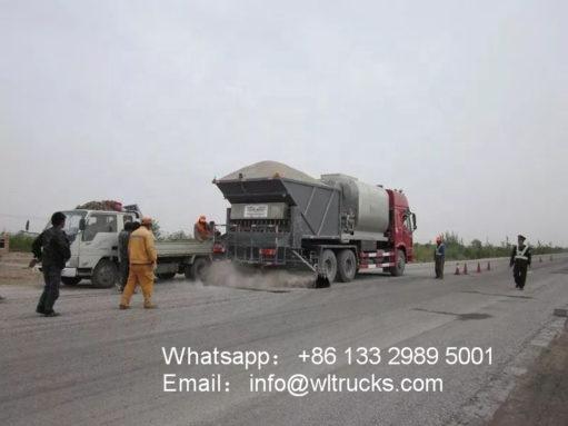15 ton Asphalt sealer truck