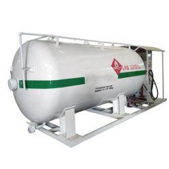 15000 liter 6tons lpg gas refilling station