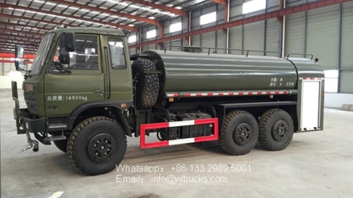 15000l Forest desert off-road water truck