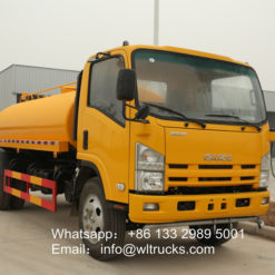 ISUZU 700P 10000l to 15000l water bowser truck