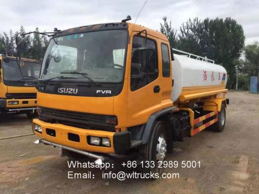 15000liters water tank truck