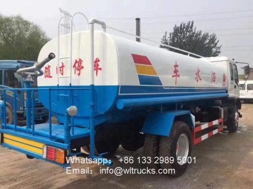 15000liters water truck