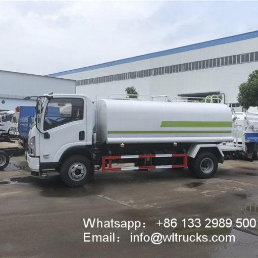 15cbm water tank truck