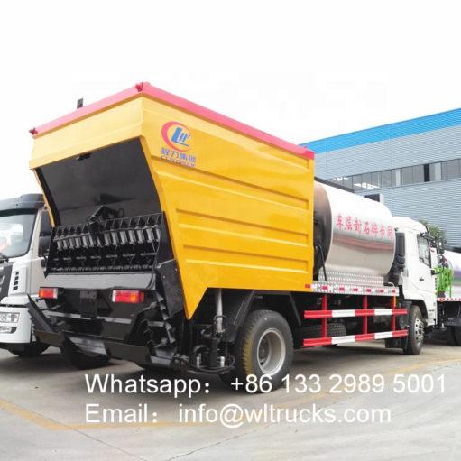15ton Asphalt gravel sealer truck