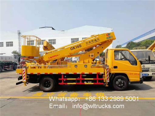 16 meter aerial platform truck