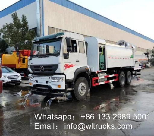 16 ton Dust suppression truck