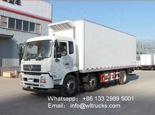 6x2 Dongfeng 16 ton to 20 ton refrigerator trucks
