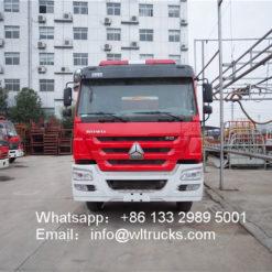 16000L water tank fire truck