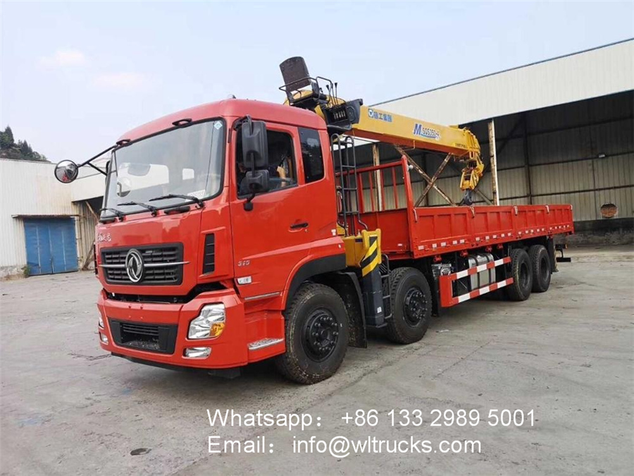 8x4 Dongfeng 14ton 16ton crane truck for sale