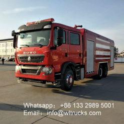 16ton foam fire engine truck