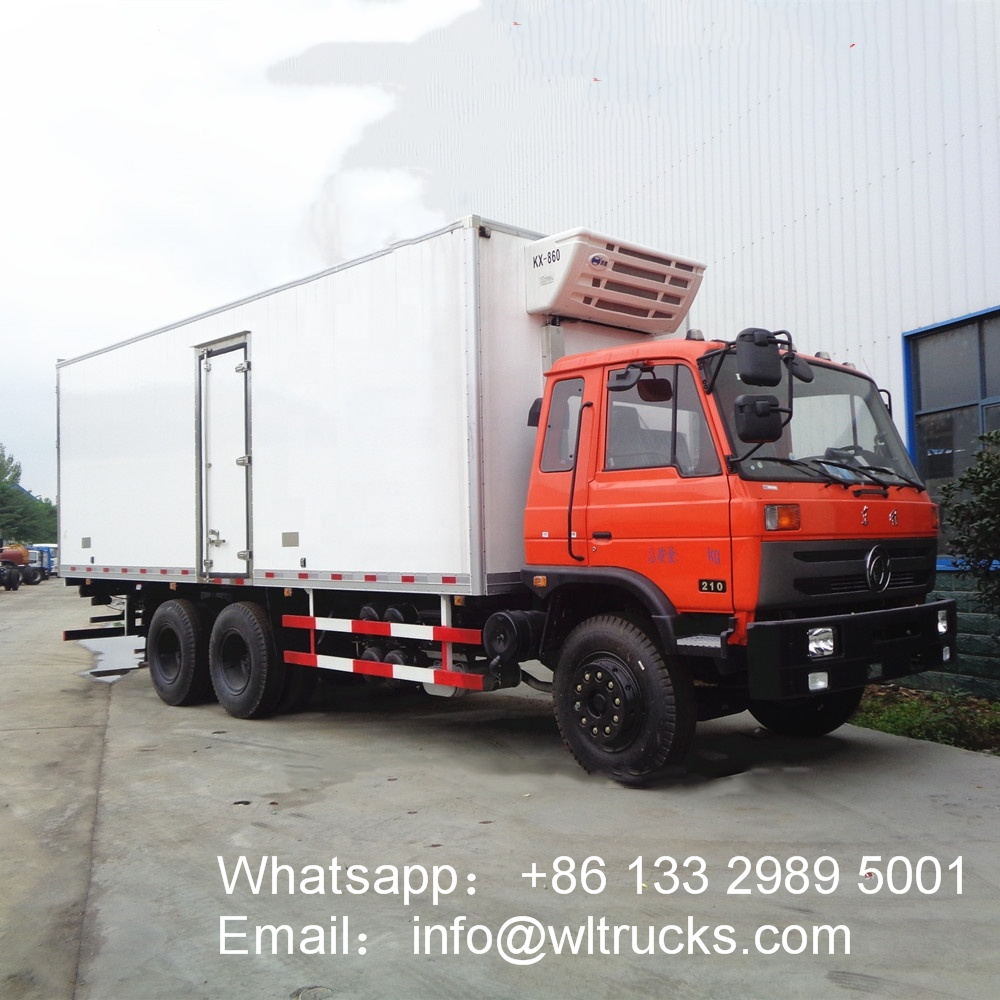 Dongfeng 6x4 16ton to 20ton Heavy Duty refrigerated trucks