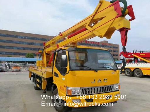 18m aerial platform truck