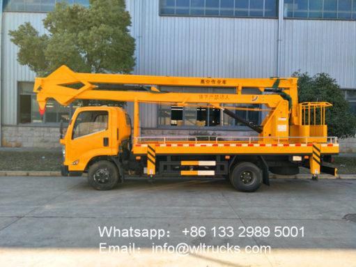 18m aerial working platform truck