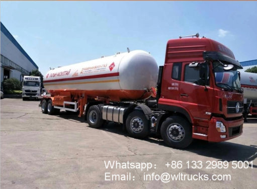 2 Axle 40000liters lpg trailer