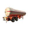 2 Axles 45000liters lpg tanker trailer