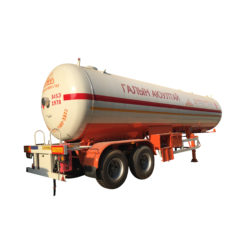 2 Axles 45000liters lpg tanker trailer