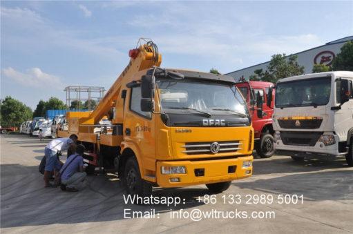 20 meter aerial platform truck