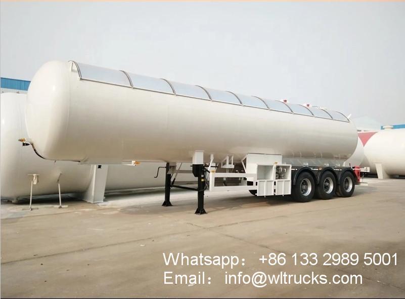 20 ton 50000liters lpg storage tank trailer