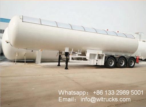 20 ton 50000liters lpg tank trailer