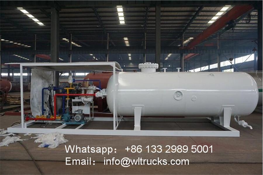 20 ton 50000 liter lpg gas station