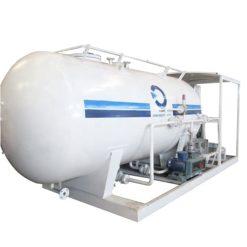 20000 liter 8ton lpg filling skid station