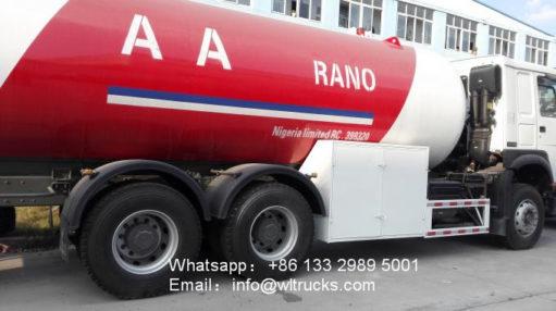 20000L lpg tanker truck
