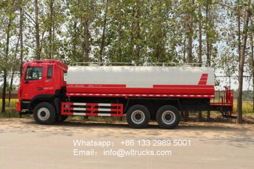 20000liters water truck