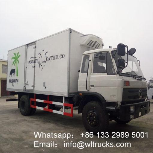DFAC 10 ton to 15ton 20ft freezer refrigerated truck