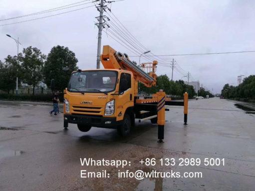 22 meter aerial working truck