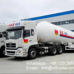 24 ton 58000liters lpg trailer