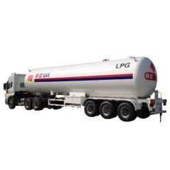 24 ton 58000liters lpg transport trailer