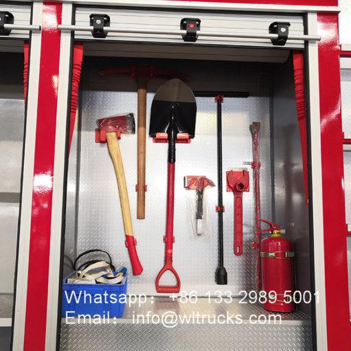 25 ton Dry powder water foam combined fire truck