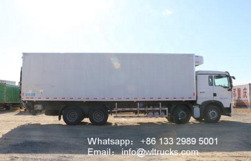 25 ton refrigerator freezer truck