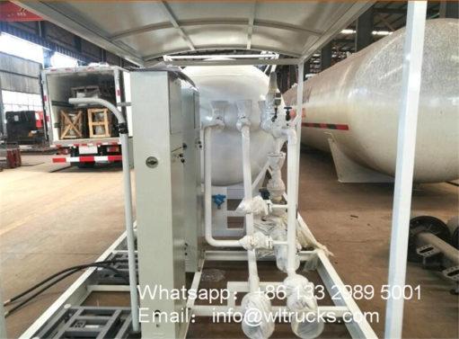 25000 liter 10 ton lpg gas station