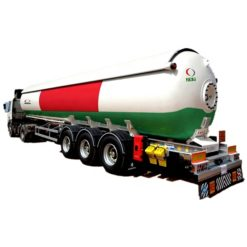3 axle 56000liters lpg gas tanker trailer