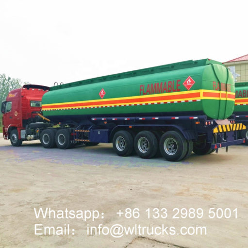 3 axle water bowser trailer