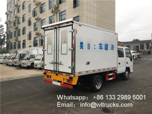3 ton Double Row refrigerator truck3 ton Double Row refrigerator truck
