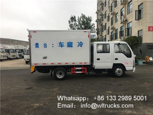 3 ton Isuzu refrigerator truck