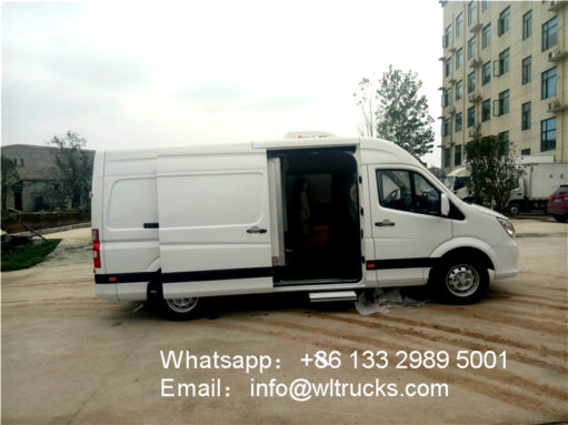 3 ton refrigerated truck