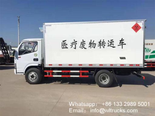 3 ton waste truck