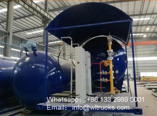 32000 liter gas station