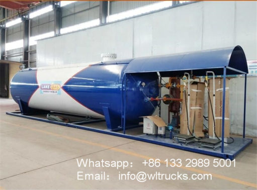 32000 liter mobile lpg gas station