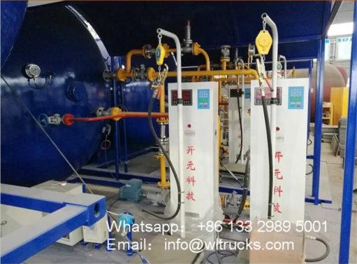 32000 liter lpg station