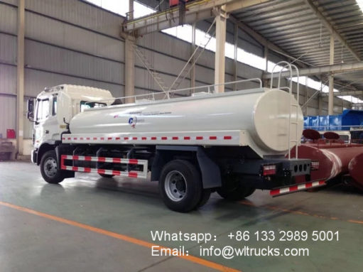 4000 gallon water tank truck