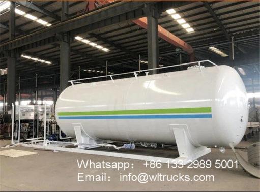 40000 liter gas station