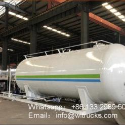 40000 liter lpg station