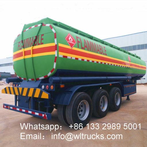 40000 liter water bowser trailer