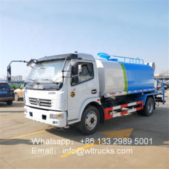 Dongfeng 8000l 40m dust suppression truck