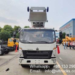 45 m ladder lift truck