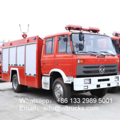 Dongfeng 4x4 6x6 off Road Water Tank Fire Truck